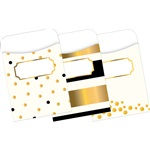 Peel & Stick Pockets Gold Multi Design Set, BCPLL1237