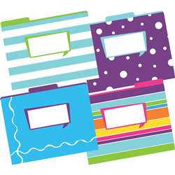 Letter Size File Folders Happy Multi-Design Set, BCPLL1334