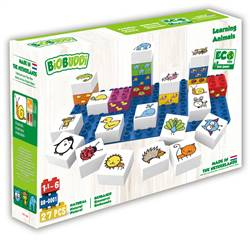 Biobuddi Learning Animals Blocks, BDDBB0001