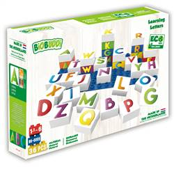 Biobuddi Learning Letters Blocks, BDDBB0005