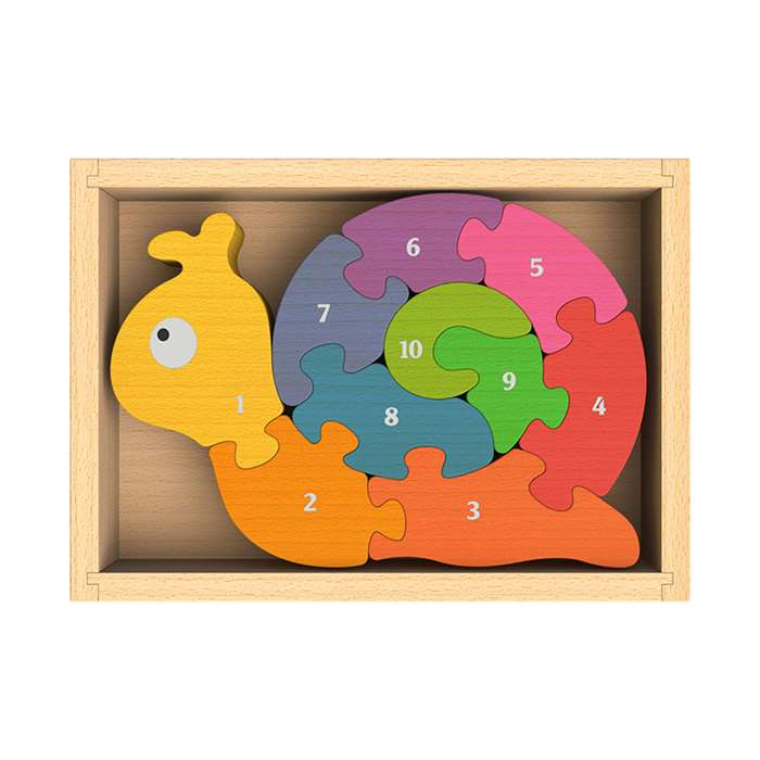 Number Snail Puzzle By Begin Again