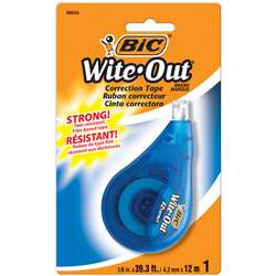 Bic Wite Out Ez Correct Correction Tape Single By Bic Usa
