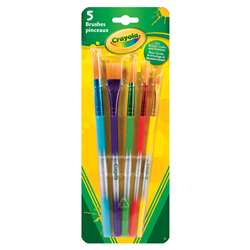 Brush Assortment Set Of 5 By Crayola