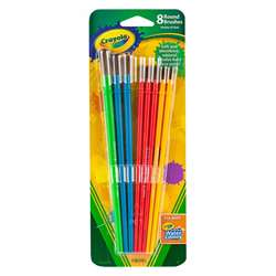 Art & Craft Brush Set 8Ct Blister Pack By Crayola
