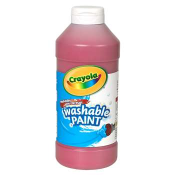 Crayola Washable Paint 16 Oz Red By Crayola