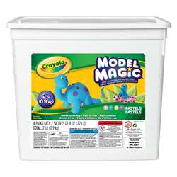 2lb Bucket Model Magic Pastel Colors, BIN232235
