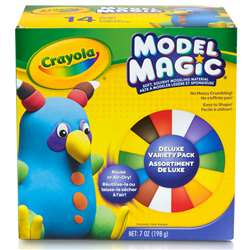 Model Magic 14 Ct Deluxe Variety Pack 9 Colors, BIN232403