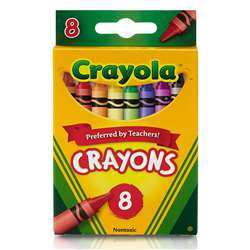 Crayola Crayons 8 Color Peggable By Crayola