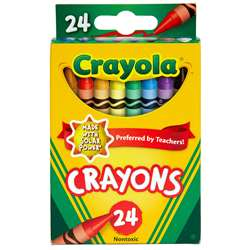 Crayola Crayons 24 Color Peggable By Crayola