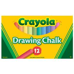 Crayola Colored Drawing Chalk Asst By Crayola