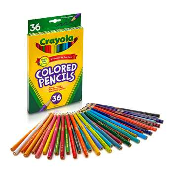 Colored Pencils-36 Assorted By Crayola