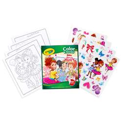 Crayola Color & Sticker Fancy Nancy, BIN40545