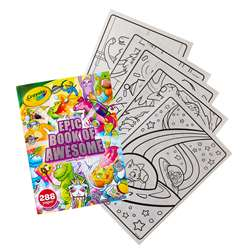 288Pg Coloring Book Epic Adventure, BIN40585