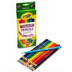 Crayola Watercolor Pencils 24 Color By Crayola