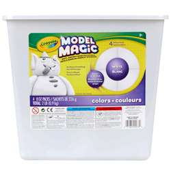2Lb Model Magic Modeling Compound Resealable Bucket By Crayola