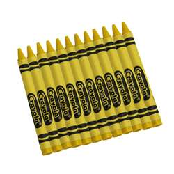 Crayola Bulk Crayons 12 Ct Yellow By Crayola