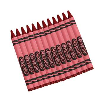 Crayola Bulk Crayons 12 Count Red By Crayola