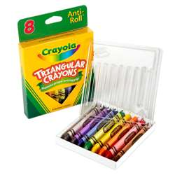 Crayola Triangular Crayons 8 Count By Crayola