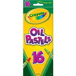 Crayola Oil Pastels 16 Color Set By Crayola