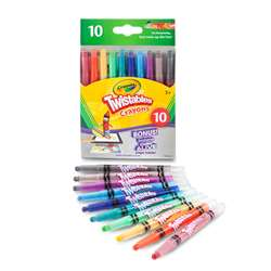 10 Ct Mini Twistables Crayons, BIN529715