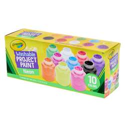 10 Ct 2Oz Neon Paint Set, BIN542390