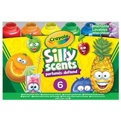 6Ct Silly Scents Washble Kids Paint, BIN542392