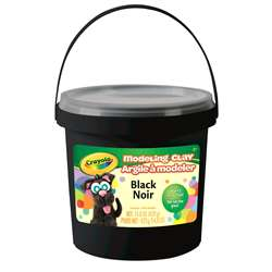 1lb Bucket Modeling Clay Black, BIN571351