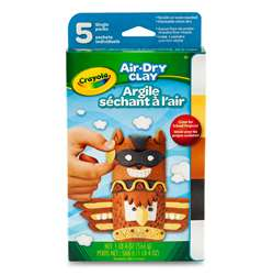 Air Dry Clay 5Ct Neutral Variety Pack, BIN572002