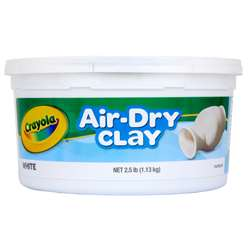 Crayola Air-Dry Clay 2 1/2 Lbs By Crayola