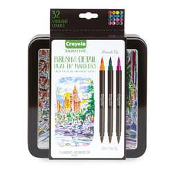 16Ct Brush & Detail Markers Dual-Tip, BIN586501