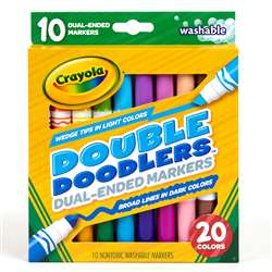 10 Ct Washable Double Doodlers, BIN588310