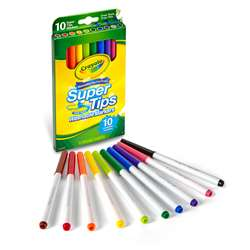 10 Ct Washable Super Tips Markers, BIN588610