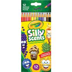12 Ct Silly Scents Colored Pencils, BIN682112