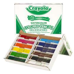 Crayola Watercolor Pencil 240 Ct Class Pk By Crayola