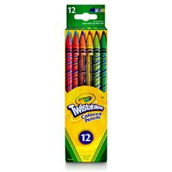 Crayola Twistables 12 Colors Colored Pencils By Crayola