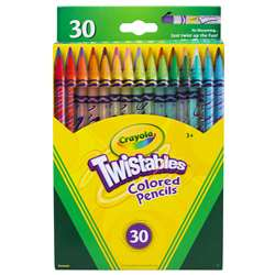 Crayola Twistables 30 Ct Colored Pencils By Crayola