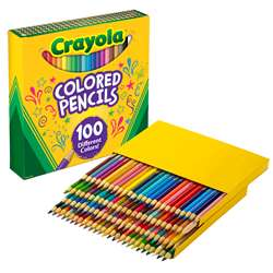Crayola Colored Pencils 100 Colors, BIN688100