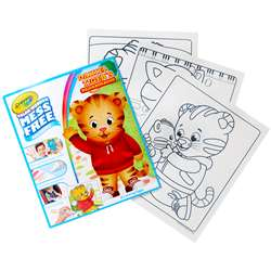 Colrng Pad Daniel Tigers Neighborhd Color Wonder, BIN752392