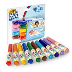 10Ct Color Wonder Mini Markers Classic Colors Wash, BIN752471