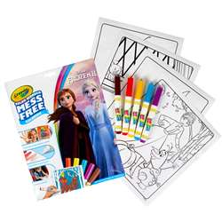Coloring Pad & Markers Frozen 2 Color Wonder, BIN757002