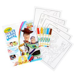 Coloring Pad & Markers Toy Story 4 Color Wonder, BIN757008