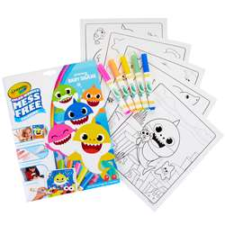 Coloring Pad & Markers Baby Shark Color Wonder, BIN757103