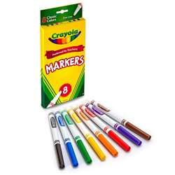 Original Drawing Markers 8 Color By Crayola