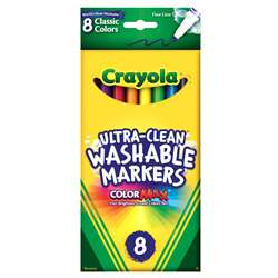 Washable Drawing Marker 8 Colors By Crayola