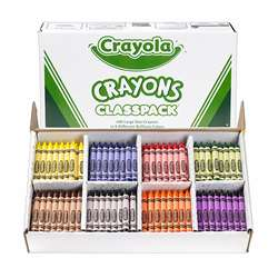 400 Large Size Crayon Classpack By Crayola