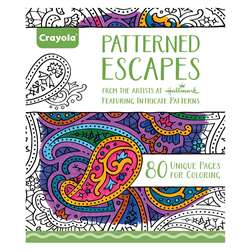 Coloring Book Patterned Escapes, BIN992022