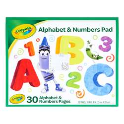Crayola Beginning Abc Tablet, BIN993406