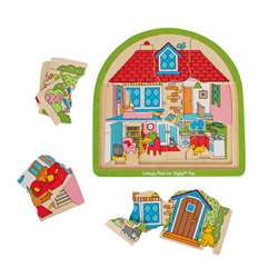 Multi-Layer House Puzzle, BJTBJ588