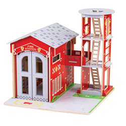City Fire Station Playset, BJTJT156