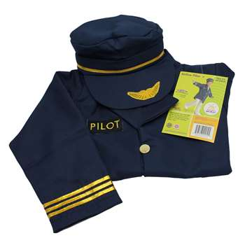 Dramatic Dress Ups Community Helper Costumes Airline Pilot By Brand New World